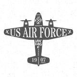Flygvapen av Förenta staterna royaltyfri illustrationer