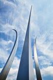 Flygvapenminnesmärke Arkivfoto