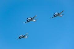 Flygvapenstrålar fotografering för bildbyråer