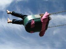 Flyin alto Fotografia Stock