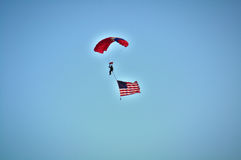 Flyin alto Fotografía de archivo libre de regalías