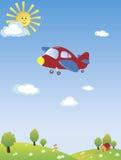 Flyin elevado Imagem de Stock