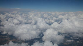 Flying above clouds Royalty Free Stock Photos