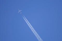 FLying Aeroplane Royalty Free Stock Image