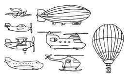Free Flying / Air Vehicles Set Stock Image - 30561621