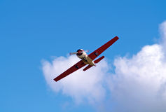 Flying aircraft Stock Images
