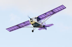 Flying airplane Royalty Free Stock Photo