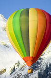 Flying in the alps Royalty Free Stock Photo