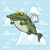 Flying Angel Frog Stock Photo