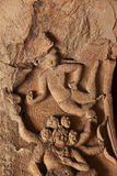 Flying apsaras of Yungang grottoes Royalty Free Stock Image