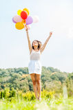 Flying away. Royalty Free Stock Photo