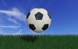 Flying ball Stock Image