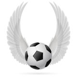 Flying ball Royalty Free Stock Photo