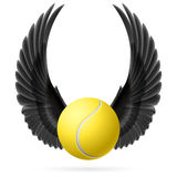 Flying ball Royalty Free Stock Photography