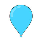 Flying balloon Stock Photography