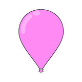Flying balloon Royalty Free Stock Photo