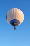Flying balloon with many patches Royalty Free Stock Photography