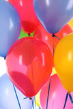 Flying balloons Stock Photography