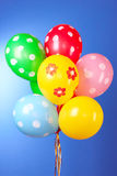 Flying balloons Royalty Free Stock Photography
