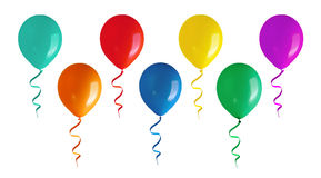 Flying balloons Royalty Free Stock Photos