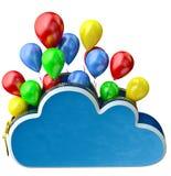 Flying balloons Royalty Free Stock Photos