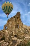 Flying balloons in Cappadocia, Turkey. Stock Photography