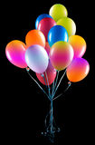 Flying balloons isolated Royalty Free Stock Photography