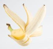 Flying banana Stock Photo