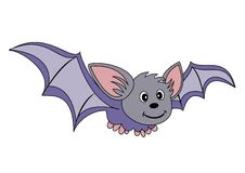 Flying bat Stock Images