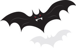 Flying Bat Royalty Free Stock Image
