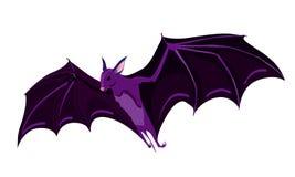 Flying bat vector illustration  on white background Stock Photo