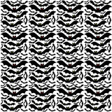 Flying Bats Background Pattern Royalty Free Stock Photography