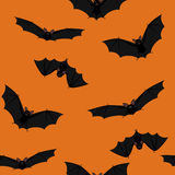 Flying bats Royalty Free Stock Photos