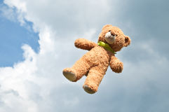 Flying bear Royalty Free Stock Photos