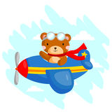 Flying Bear Stock Photography