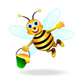 Merry bee Royalty Free Stock Images