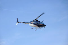 Flying Bell helicopter Royalty Free Stock Photos