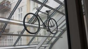 Flying Bike stock photography