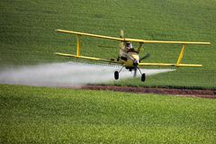 Crop Duster spraying