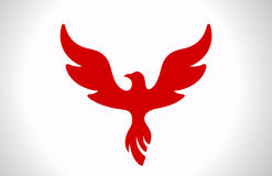 Flying Bird icon. Royalty Free Stock Image