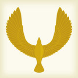 Flying bird icon Royalty Free Stock Images