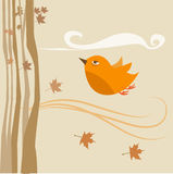 Flying bird vector Stock Photos