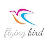 Flying Bird Vector Logo Stock Images