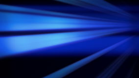 Flying blue lines, abstract motion background stock illustration