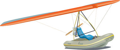 Flying boat Stock Images