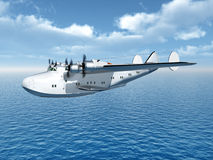 Flying Boat Airliner Stock Photos