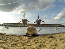 Flying boat Royalty Free Stock Photo