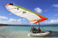 Flying Boat in Punta Cana, Dominican Republic Stock Photography