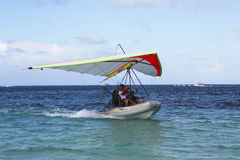 Flying Boat in Punta Cana, Dominican Republic Royalty Free Stock Image