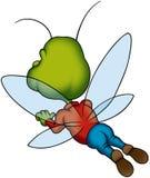Flying bug Stock Photo